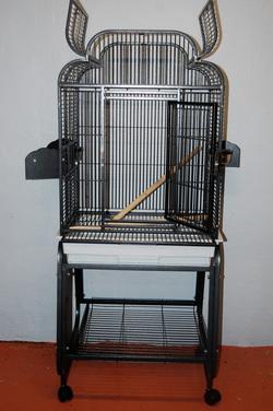 Open Top Metal Cage