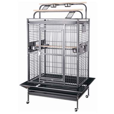 Large Play Top Bird Cage 36 x 28 : image 1
